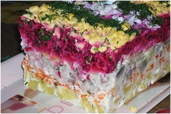 Шуба салат рецепт классический с